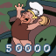 50000 Points
