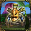 Masked Jungle Warrior