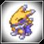 Lightning and ice Digimon