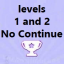 Level 1 and 2 (No continue) [m]