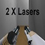 2x lasers