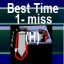 Port Blue Best Time (hard - 1 miss)
