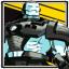 Tough Soldier in Splendid Armor