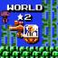 Hard world 2 clear!
