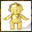 """Congratulations, you just won the solid-gold kewpie doll."""