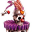 Skeleton Clown
