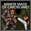 Armor Made Of Cardboard!?
