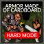 Armor Made Of Cardboard!? (Harder)