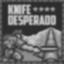 Knife Desperado At The Missile Base