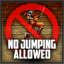No Jumping Allowed At Sandstorm Fort