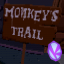 Monkey's Trail - Purple Token