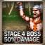 Stage 4 (Boss 50% No Damage)