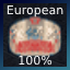 Undisputed European Champion!