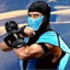 Sub-Zero,  Finish Him!