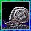 Metal Spiral Snail
