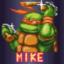 Saves Splinter as Mike