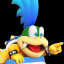 Defeated Larry Koopa