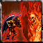 Fire Gargoyle vs. Flame Lord