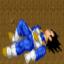 Goku vs Vegeta in Earth