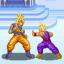 Goku vs Gohan in Temple