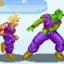 Piccolo vs Gohan in Temple