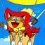Pero's Hot Air Balloon