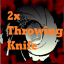 2x Throwing Knife