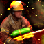 A Fire Fighter\