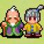 Grandpa and grandson together again