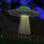 What are you doing in my UFO room?!