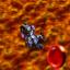 Red Challenge in Fiery Vulcano