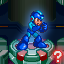 One Blue Bomber VS 8 Robot Masters