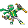 Ninja Baseball Bat Man