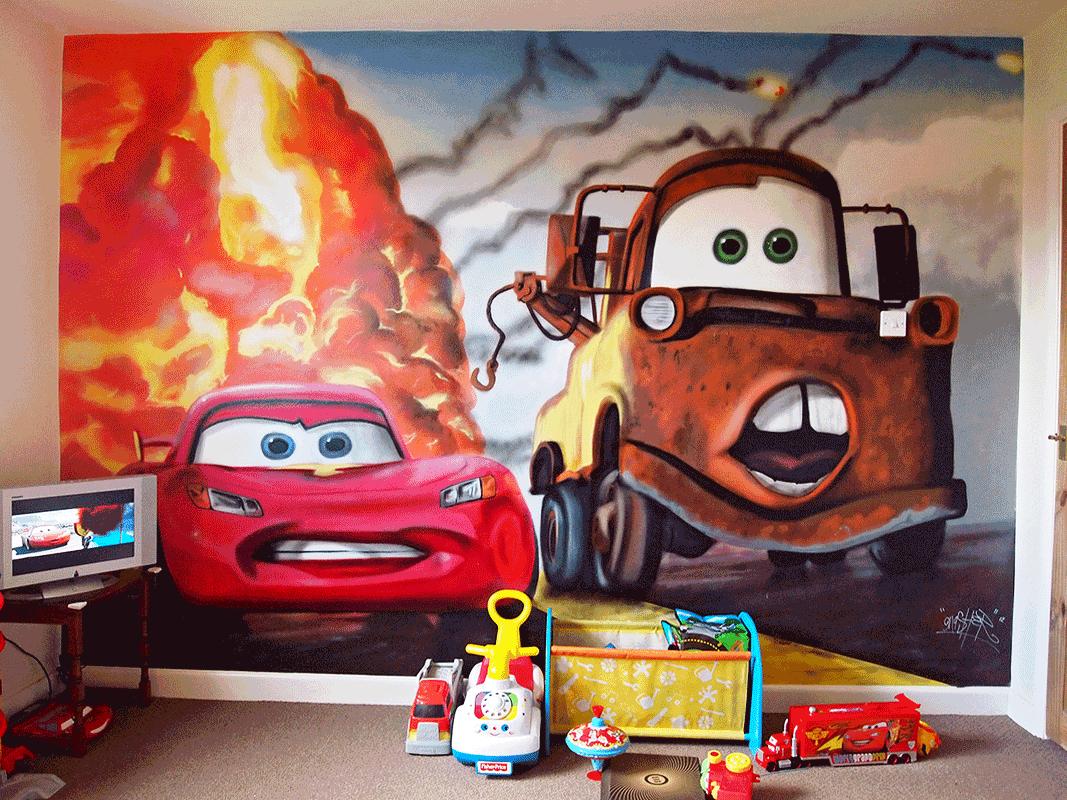 incandescent artists wall designs