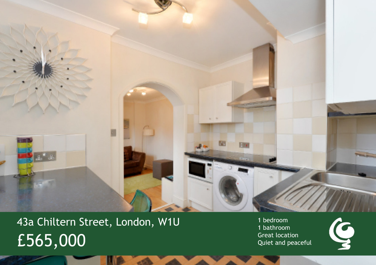 For Sale 43a Chiltern Street Globe Serviced Apartments London