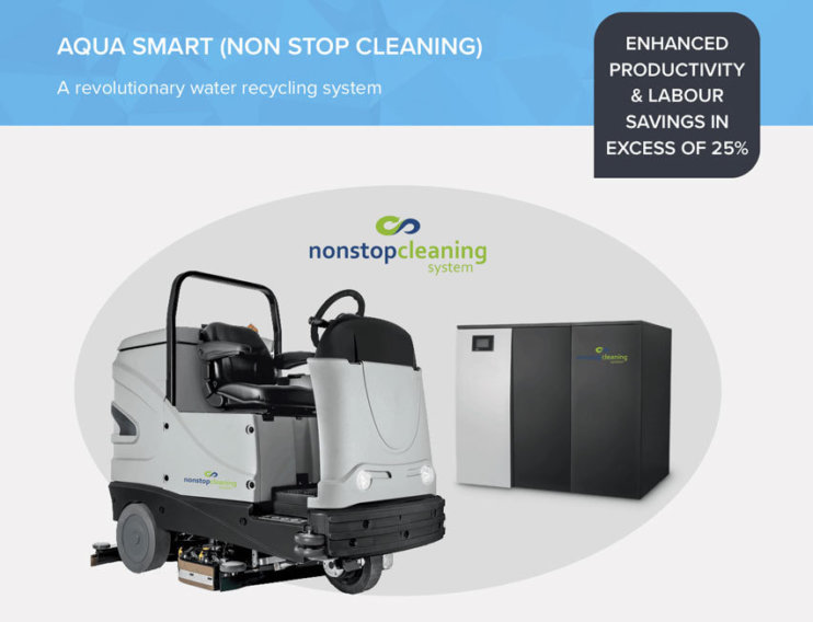 Aqua Smart - Non Stop Cleaning