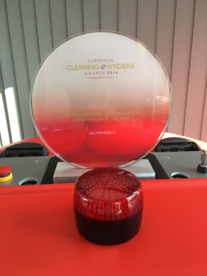 Robo 2 wins European Cleaning Award!