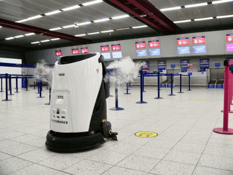 Sasse Group and ICE introduce robotics and AI at London Luton Airport