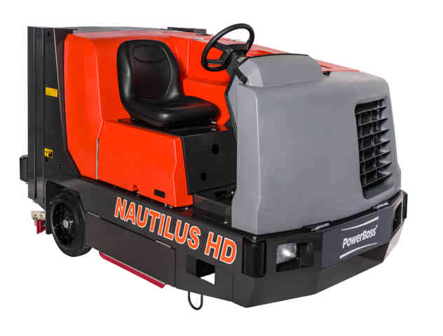 Powerboss Nautilus Combination Sweeper Scrubber