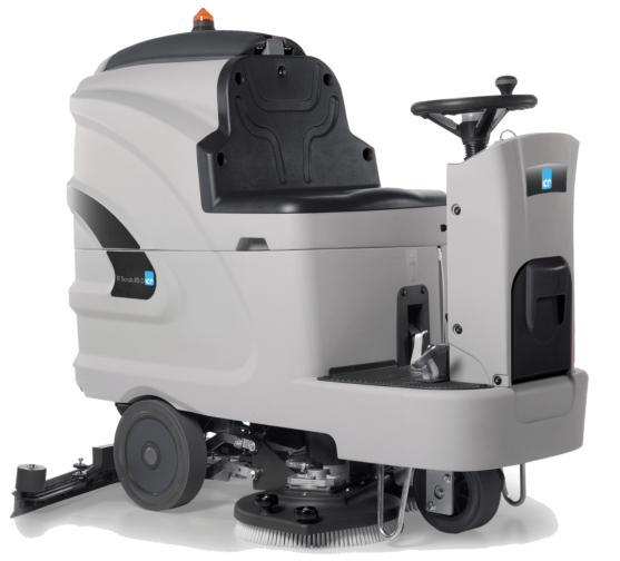 Ride-On Scrubber Dryers