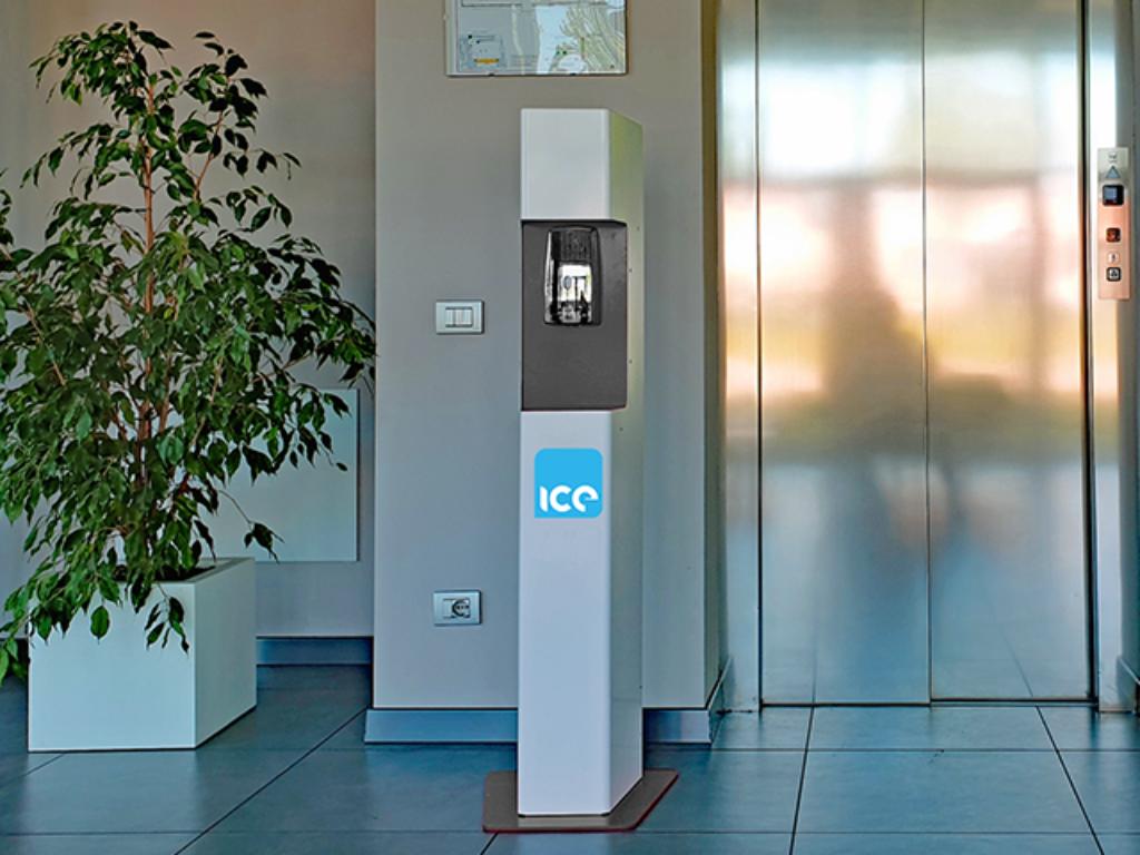 ICE Sanitisation Station