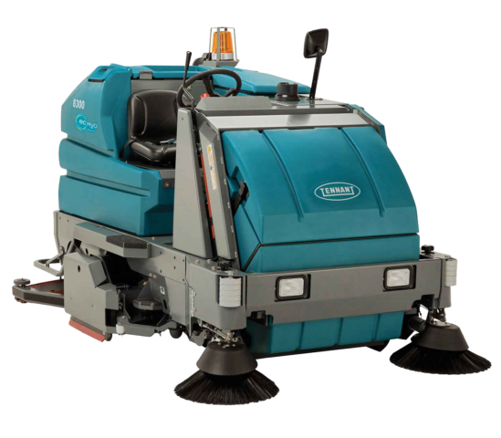 Tennant 8300 Battery Rider Sweeper-Scrubber