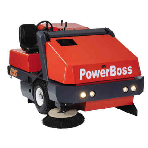 PowerBoss Atlas Ride On Sweeper