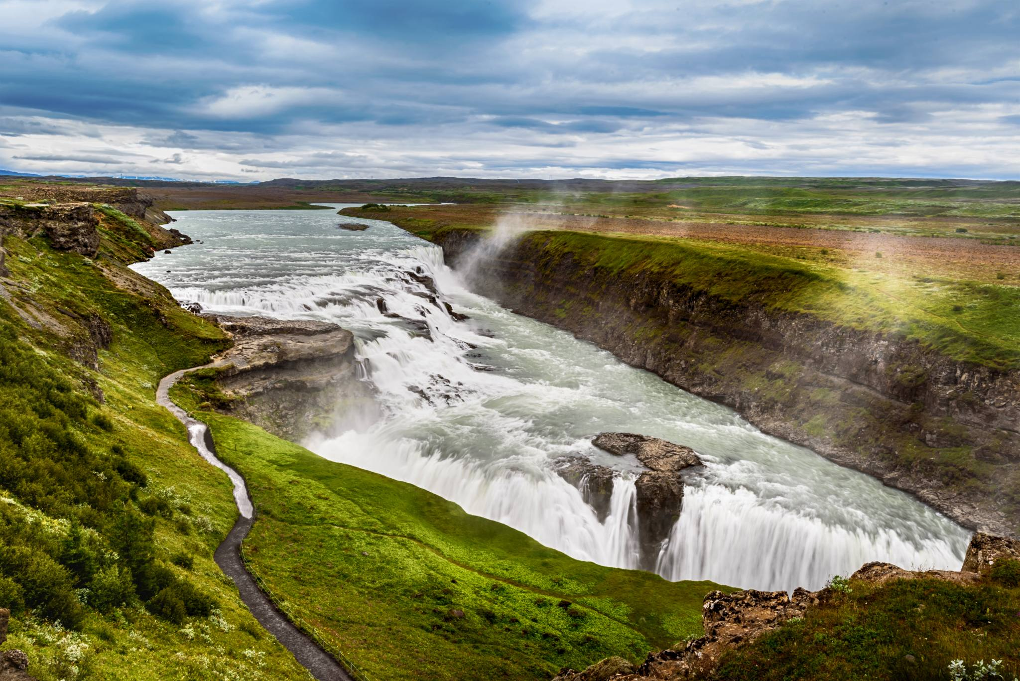 gullfoss iceland premium tours