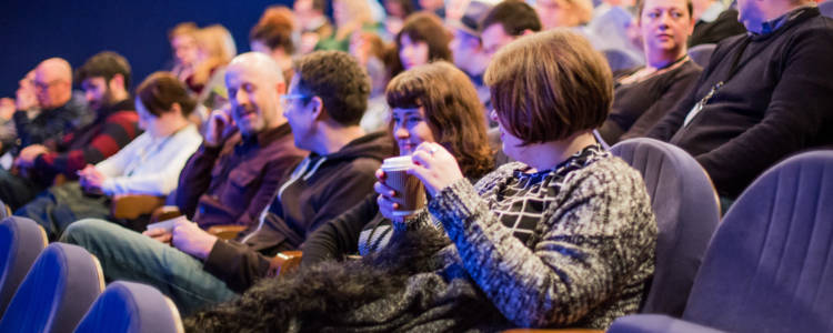 ICO Screening Days at Watershed Bristol in January 2016