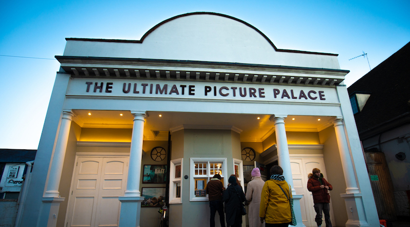 The exterior of The Ultimate Picture Palace, Oxford.
