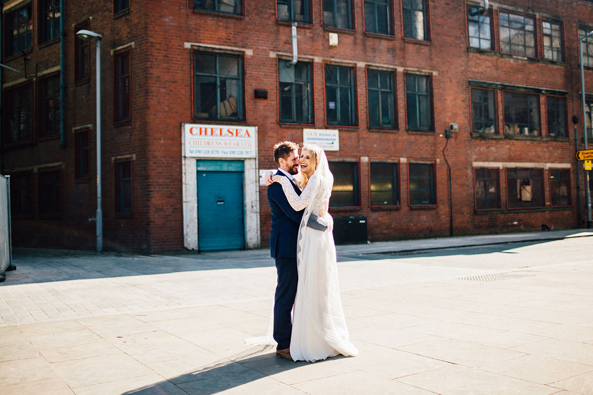 Creative Manchester Wedding Photography Halle St Peters