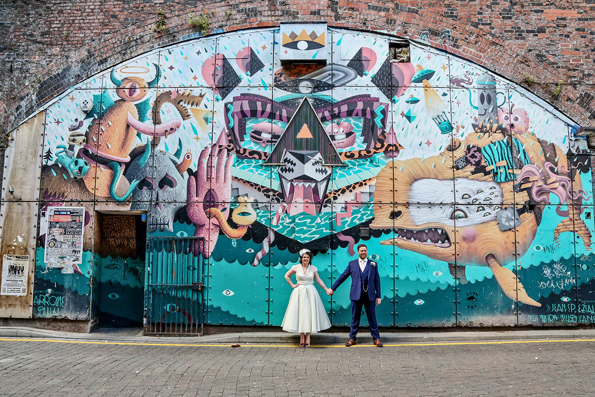 Alternaitve wedding photography Manchester