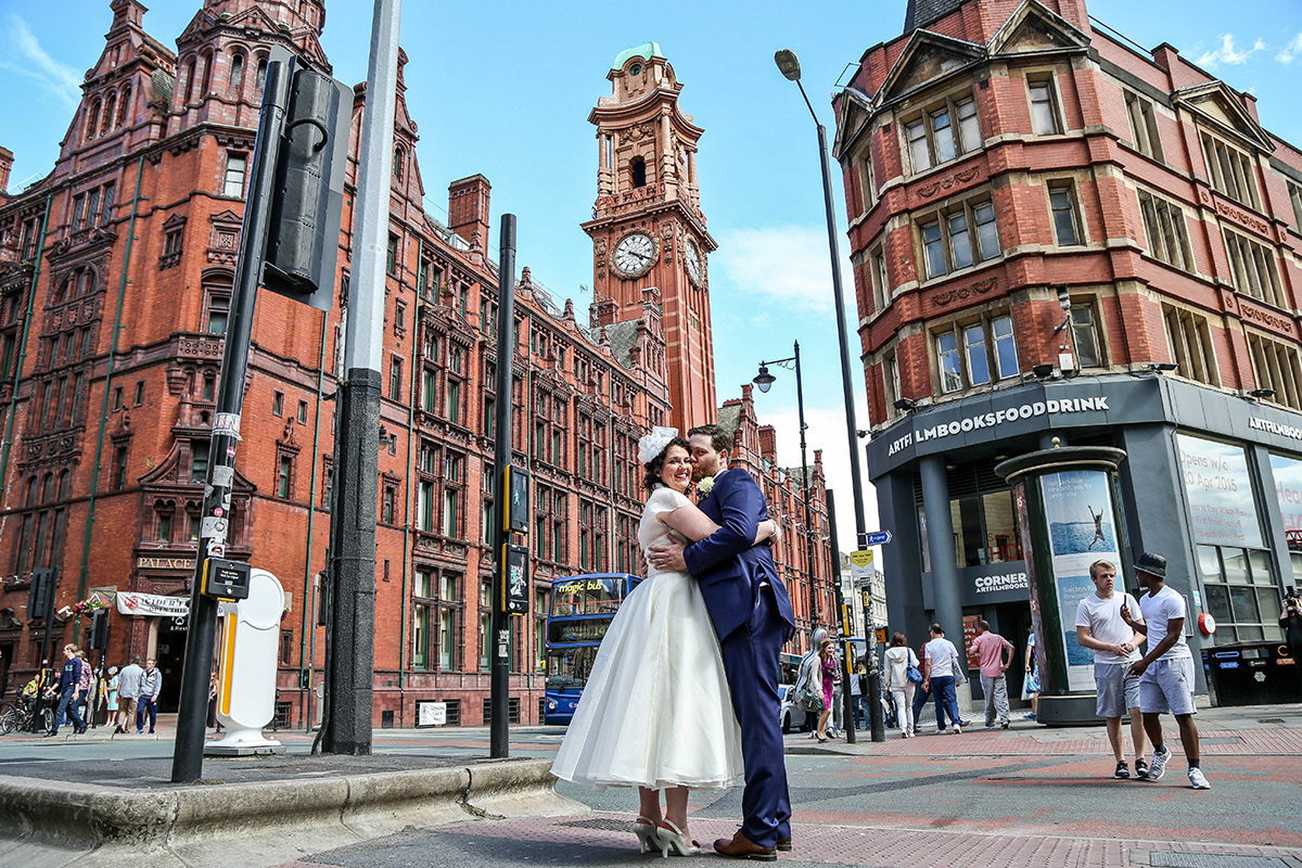 Vintage Wedding Photo Shoot Manchester Wedding Photographer at The Palace Hotel