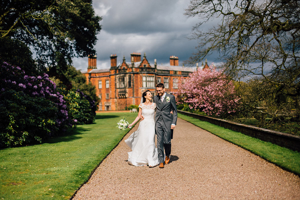 Manchester Wedding Photography Arley Hall Cheshire
